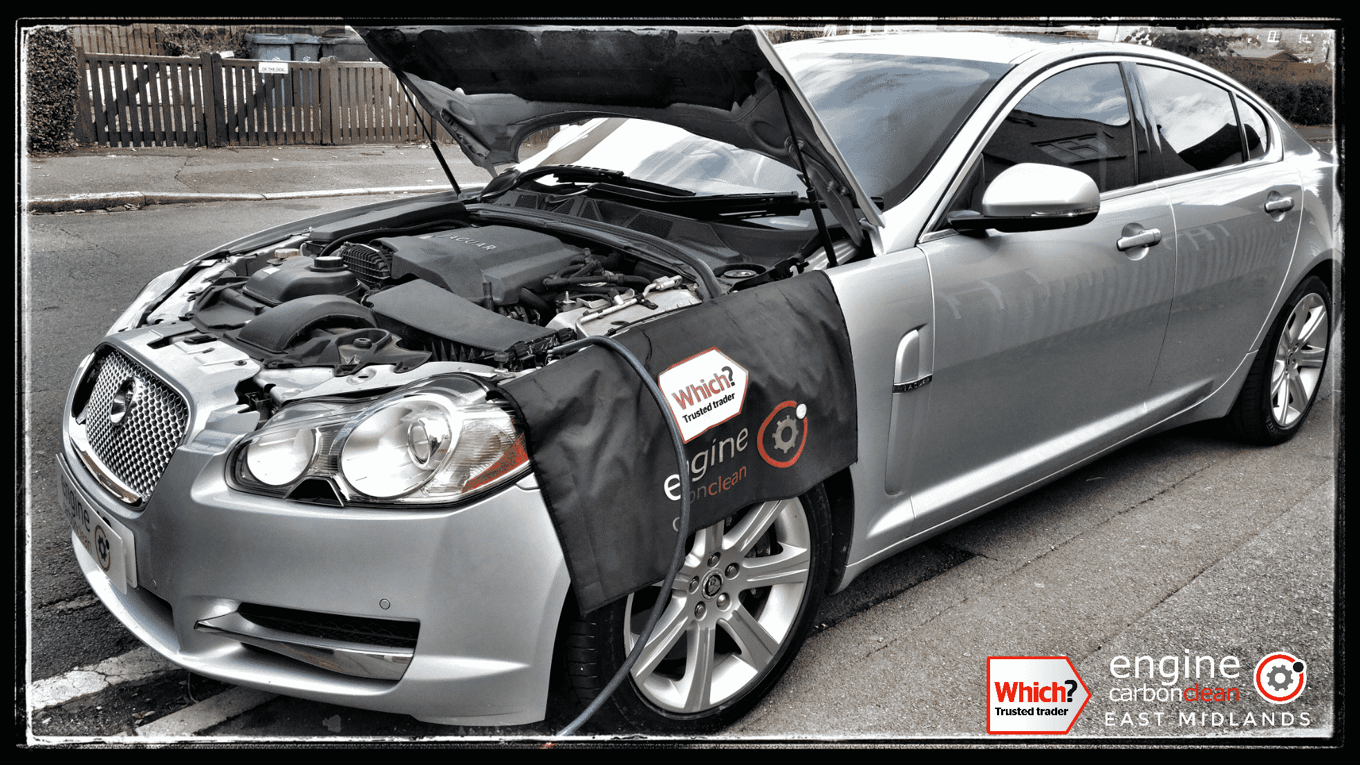 Engine Carbon Clean on a Jaguar XF 3.0 Diesel (2010 - 154,469 miles)