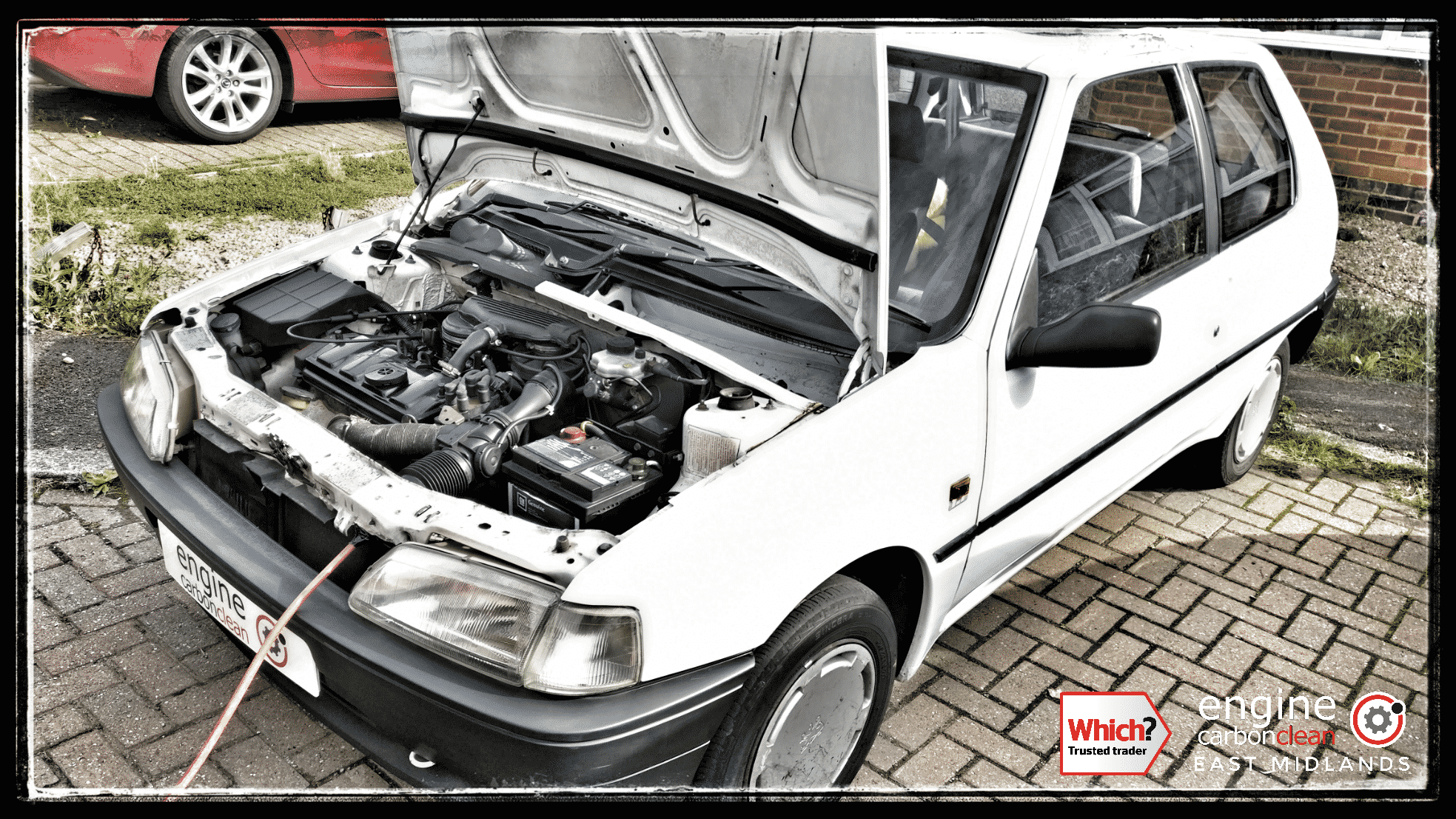 Engine Carbon Clean on a Peugeot 106 (1994 - 73,846 miles)