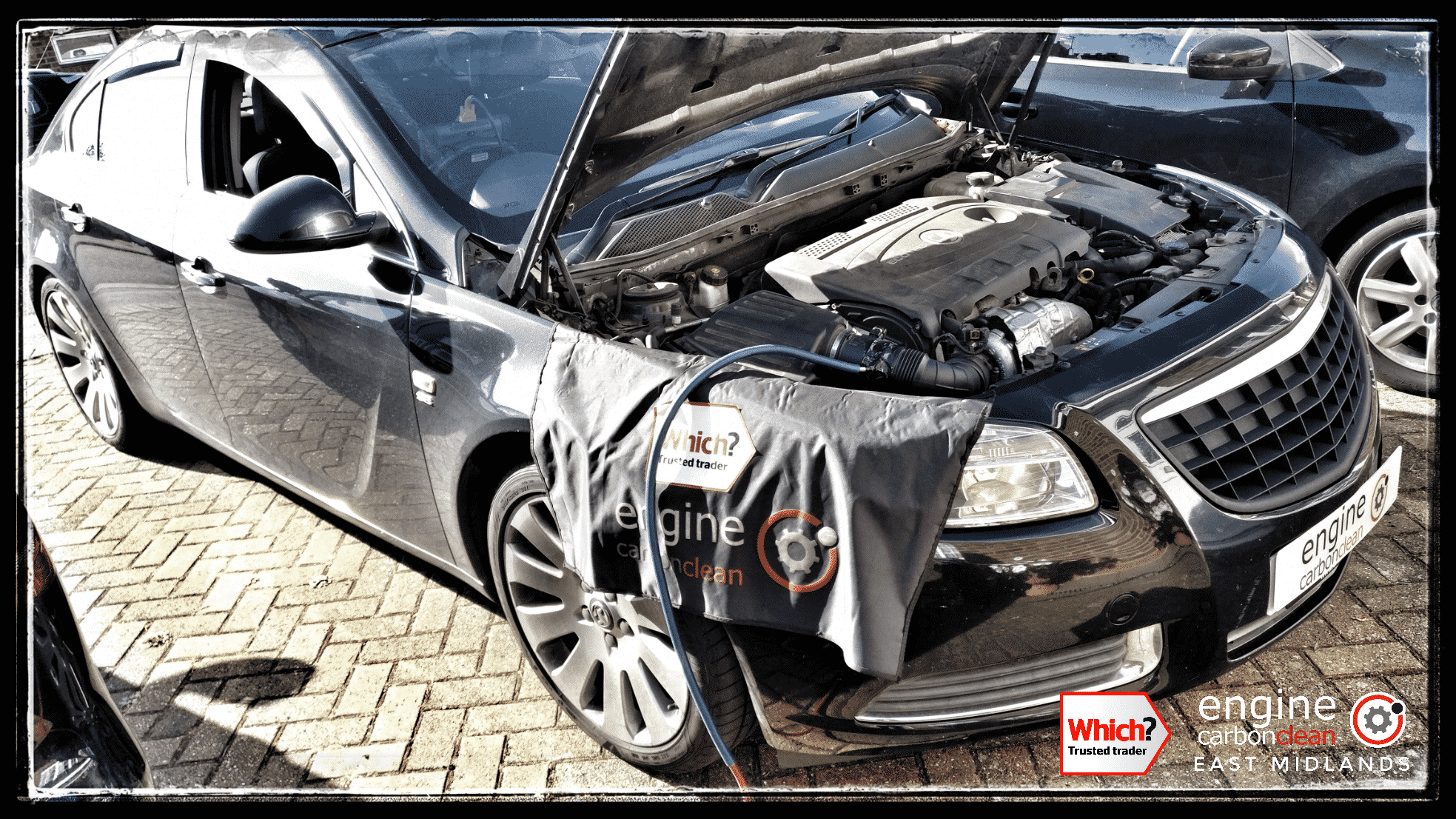 Engine Carbon Clean on a Vauxhall Insignia 2.0 CDTI (2010 - 122,481 miles)