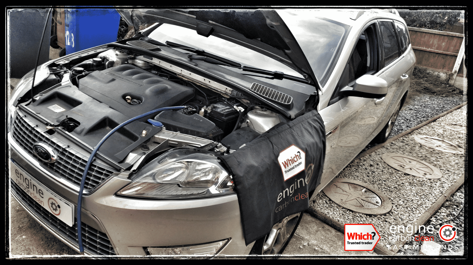 Engine Carbon Clean on a Ford Mondeo TDCi (2009 - 115,149 miles)