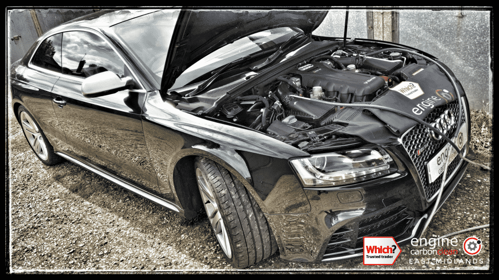Engine Carbon Clean On An Audi Rs5 4 2 V8 2010 25965 Miles