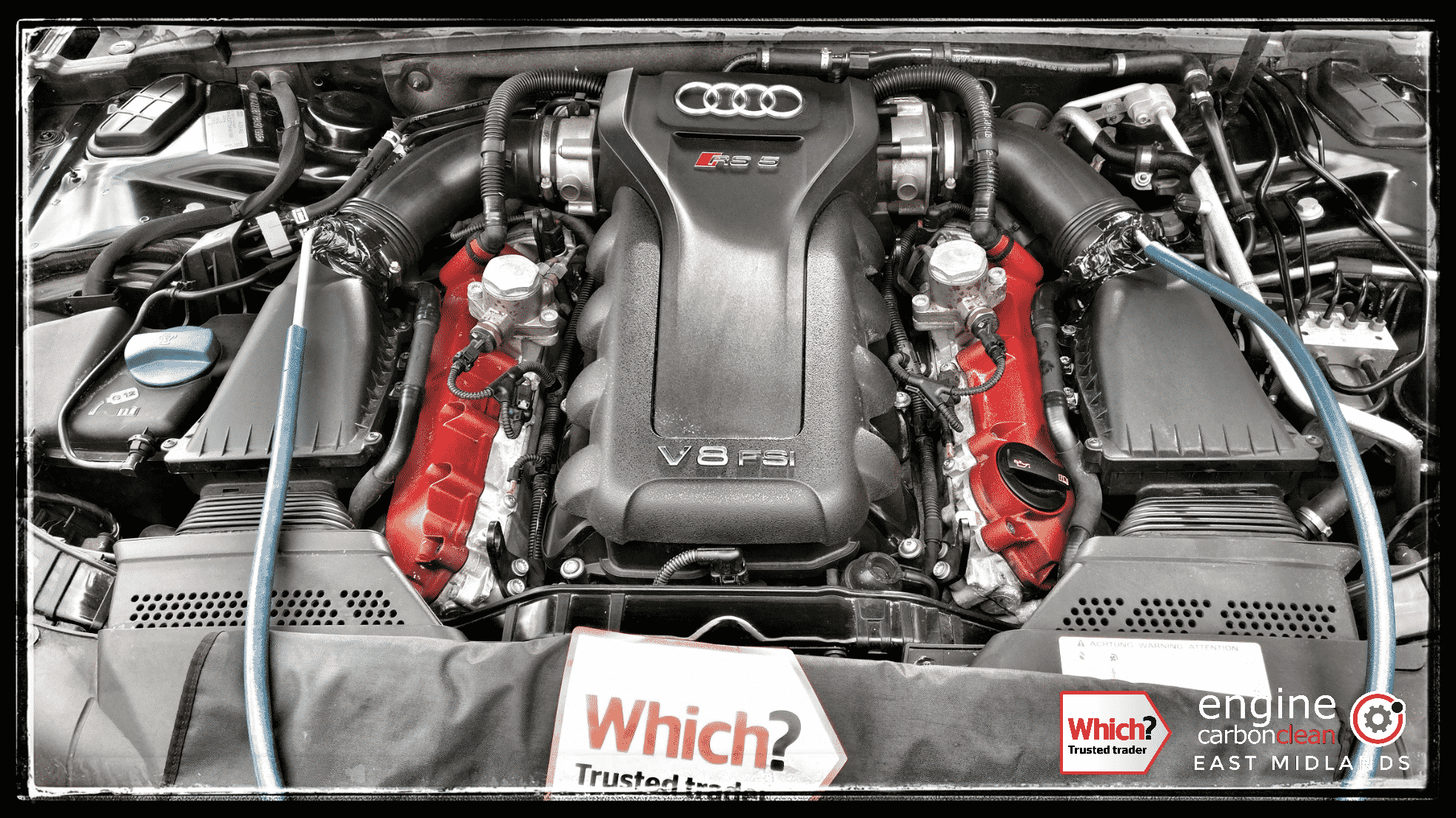 Engine Carbon Clean Engine Carbon Clean On An Audi Rs5 4 2 V8 2010 25 965 Miles
