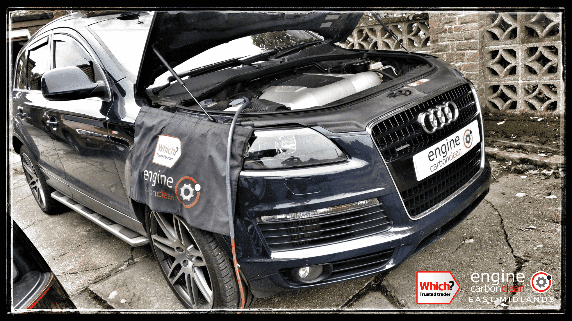 Engine Carbon Clean on an Audi Q7 3.0 TDI (2007 - 140,505 miles)