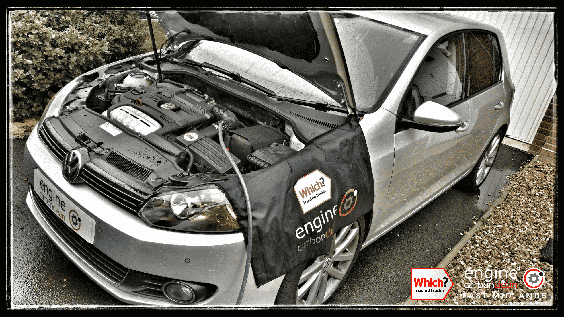 Engine Carbon Clean on a VW Golf 1.4 TSI (2009 - 67,399 miles)