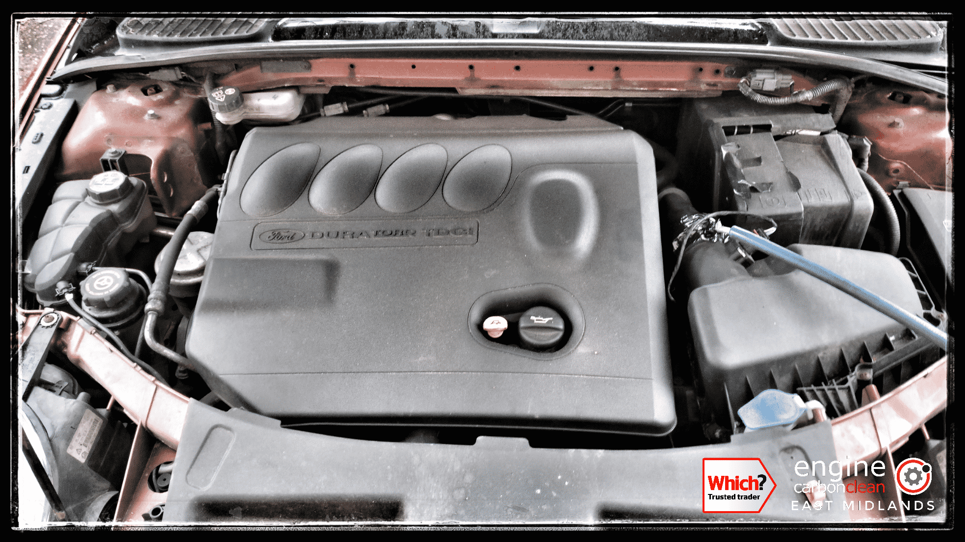 Engine Carbon Clean on a Ford Mondeo TDCi (2008 - 141,281 miles)