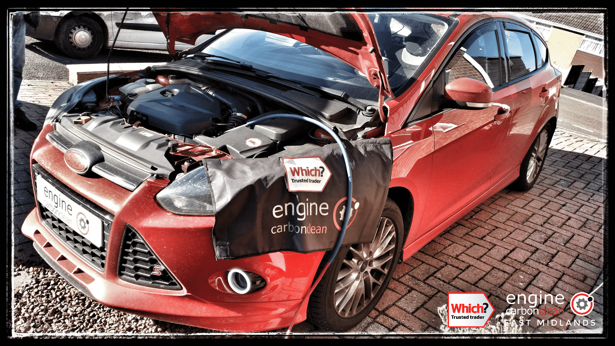 Engine Carbon Clean on a Ford Focus S 1.6 (2012 - 100,201 miles)