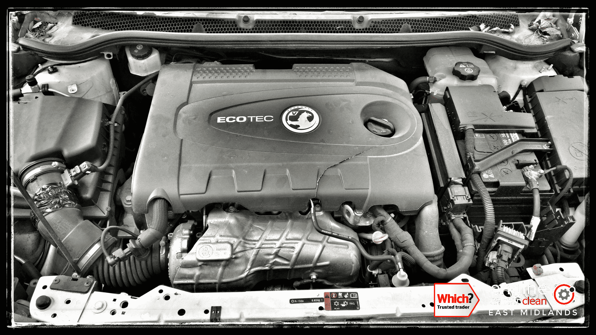Engine Carbon Clean on a Vauxhall Astra 2.0 CDTI (2011 - 60,118 miles)