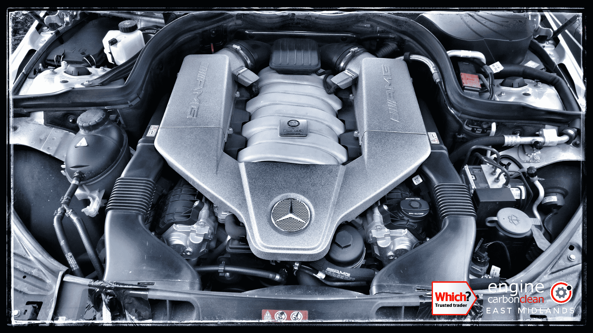 Engine Carbon Clean on a Mercedes C63 AMG (2012 - 29,848 miles)