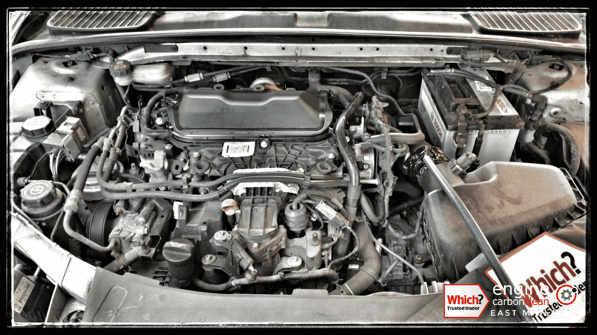 Engine Carbon Clean on a Ford Mondeo 2.0 TDCi (2010 - 172,175 miles)