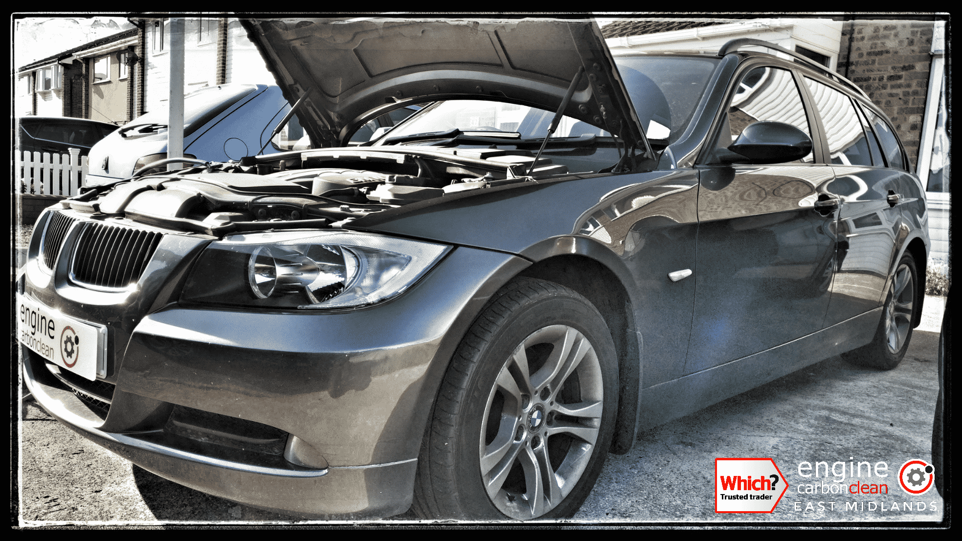 Engine Carbon Clean on a BMW 320d (2008 - 111,831 miles)