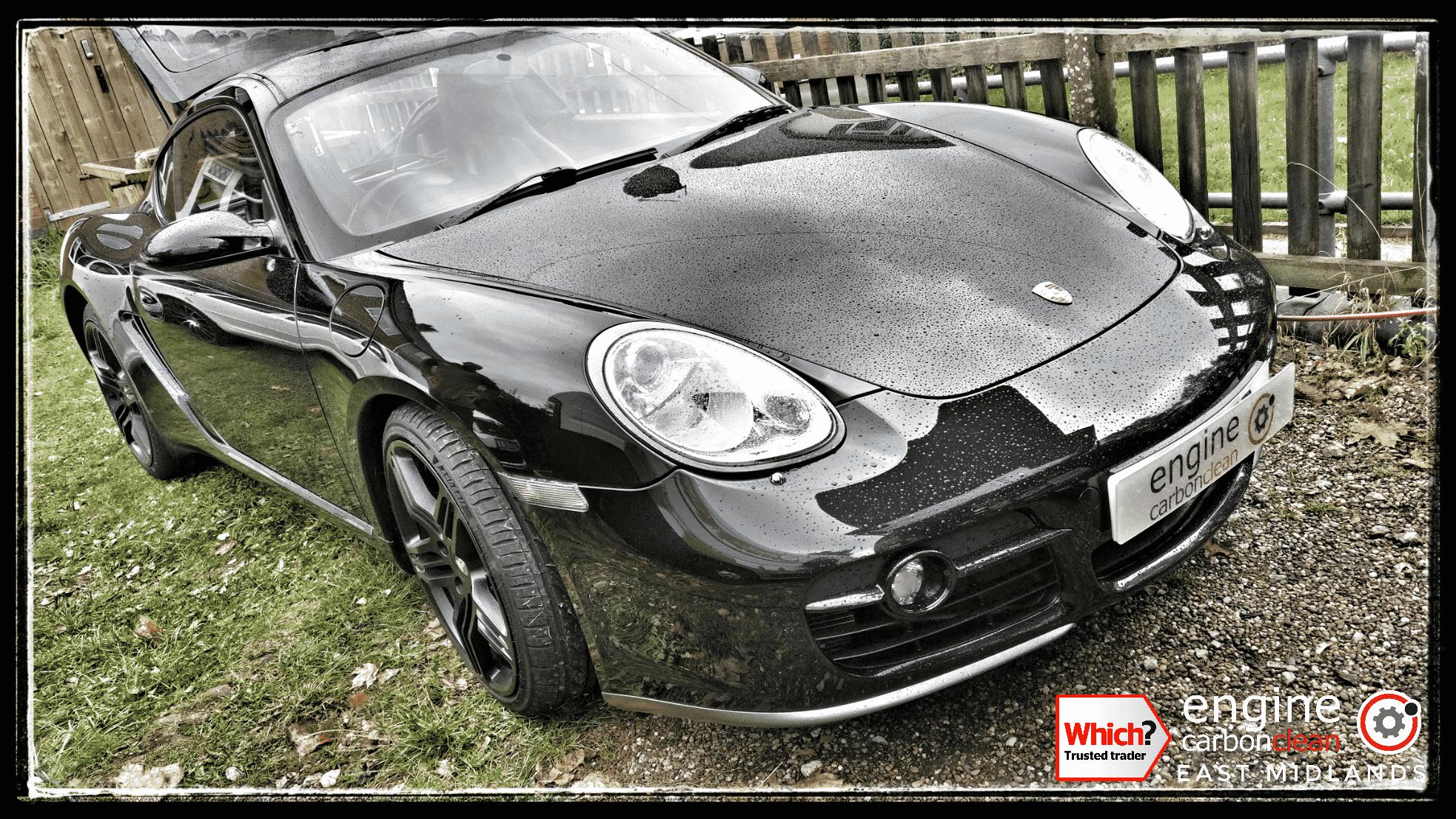 Engine Carbon Clean on a Porsche Cayman S (2006 - 79,220 miles)