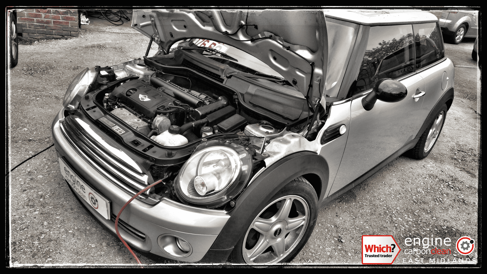 Engine Carbon Clean on a Mini One (2007 - 90,124 miles) MOT FAIL now PASSED