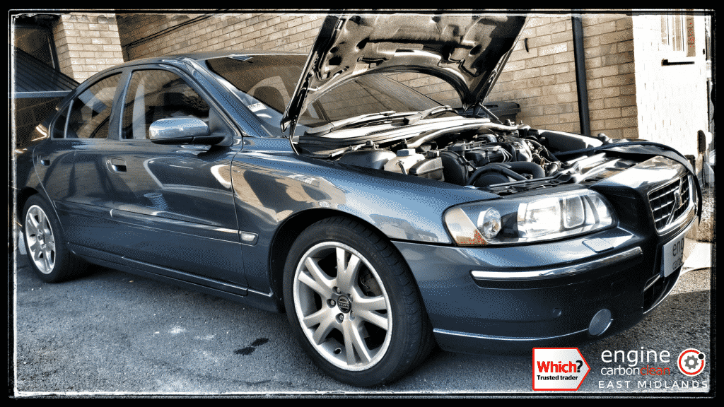Engine Carbon Clean On A Volvo S60 D5  2006