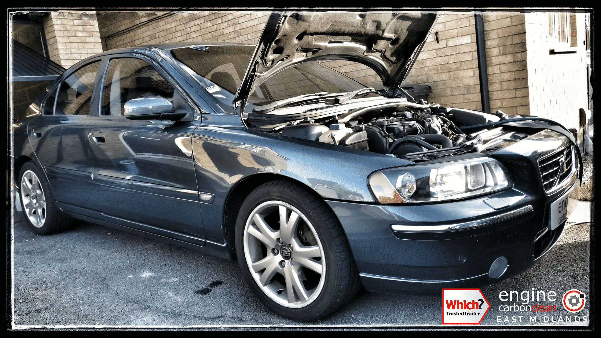 Engine Carbon Clean on a Volvo S60 D5 (2006 - 152,492 miles)