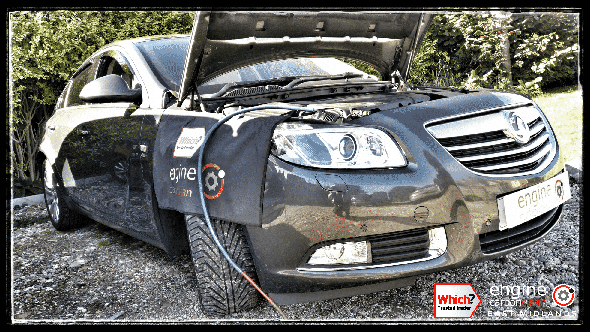 Engine Carbon Clean on a Vauxhall Insignia 2.0 CDTI (2009 - 83,944)