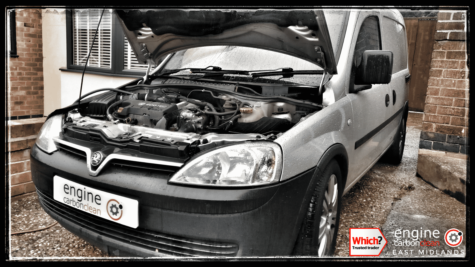 Engine Carbon Clean on a Vauxhall Combo 1.7 CDTI (2010 - 136,434 miles)