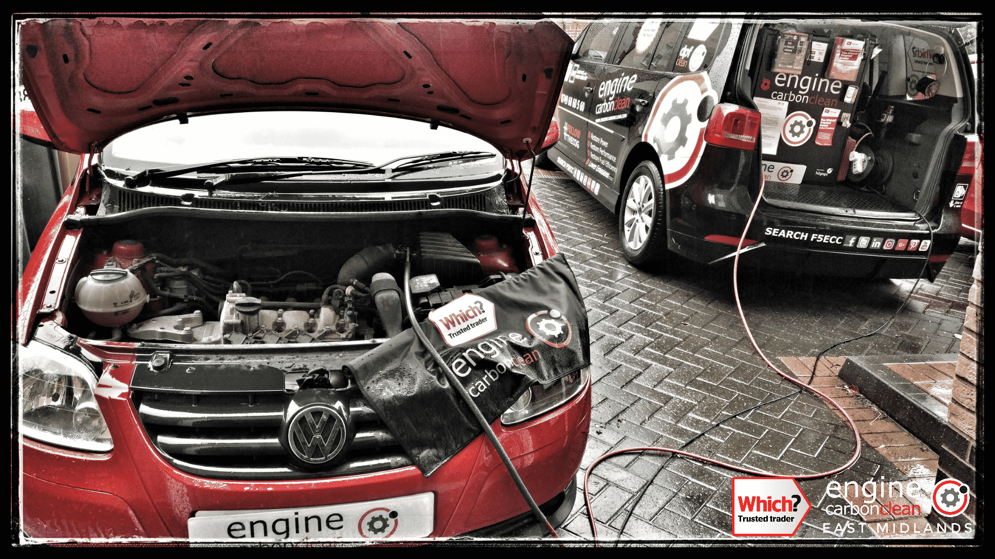 Engine Carbon Clean on a VW Fox petrol (2011 - 34,486 miles)