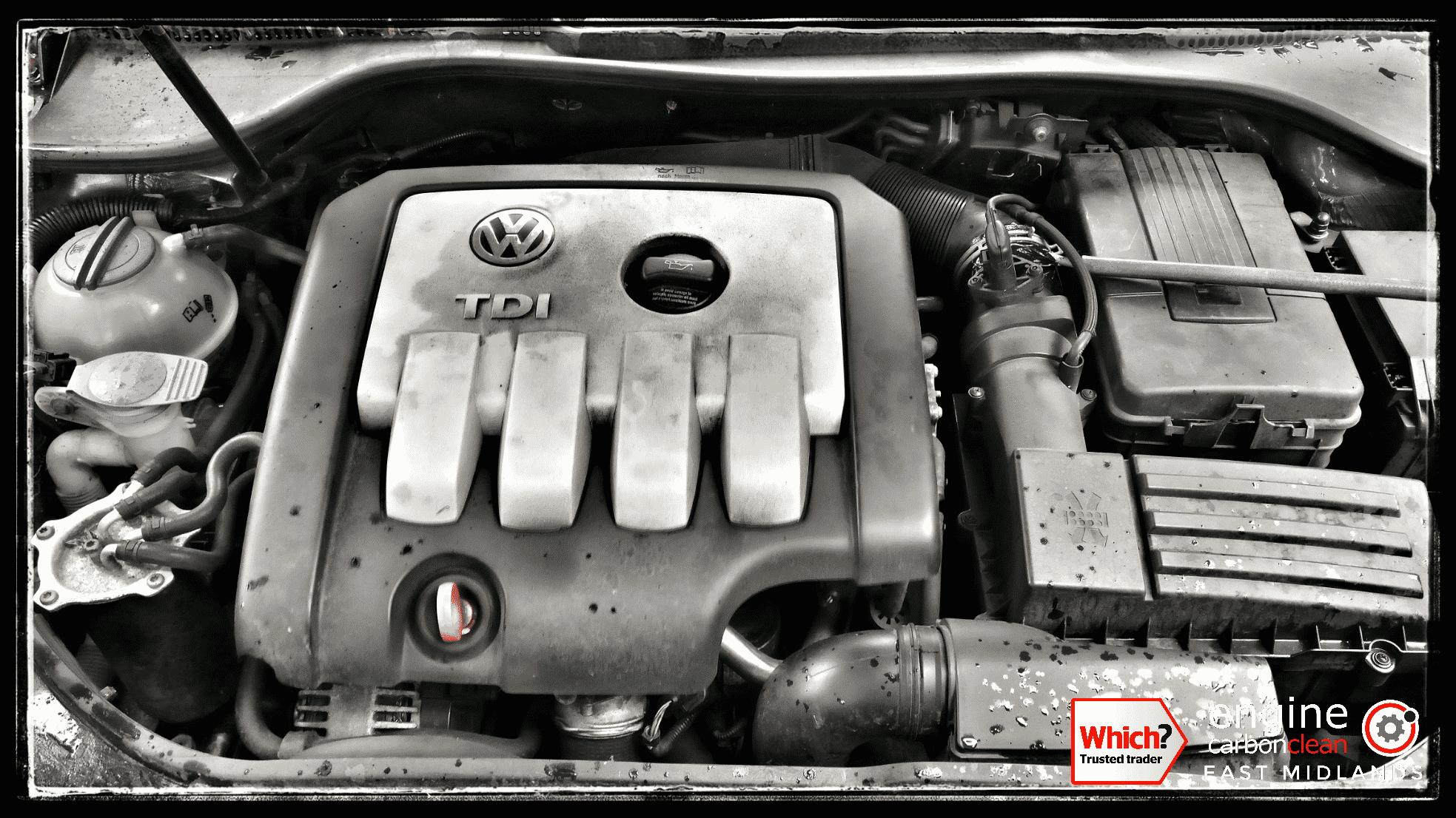 Engine Carbon Clean on a VW Golf TDI (2004 - 179,086 miles)