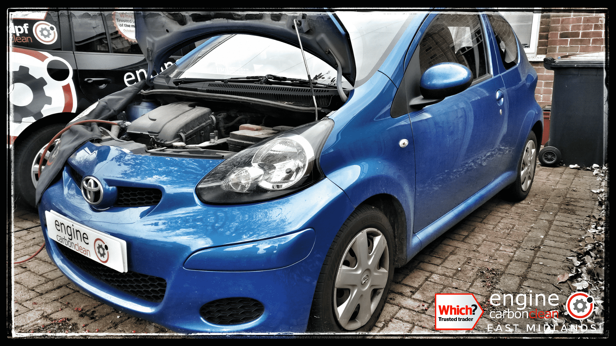 Engine Carbon Clean on a Toyota Aygo 1.0 petrol (2010 - 104,241 miles)