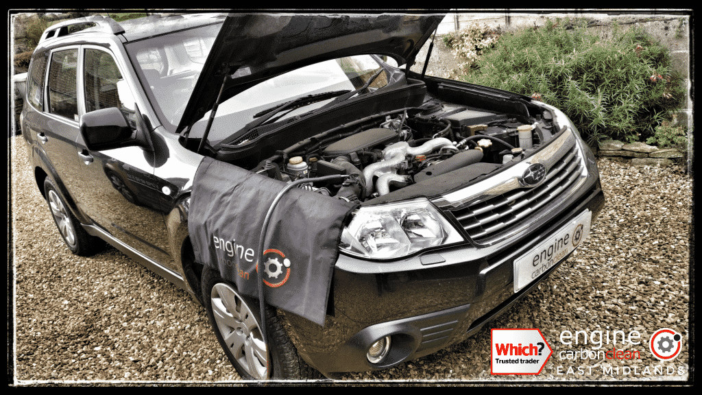 Engine Carbon Clean on a Subaru Forester 2.0 petrol (2008 - 84,397 miles)