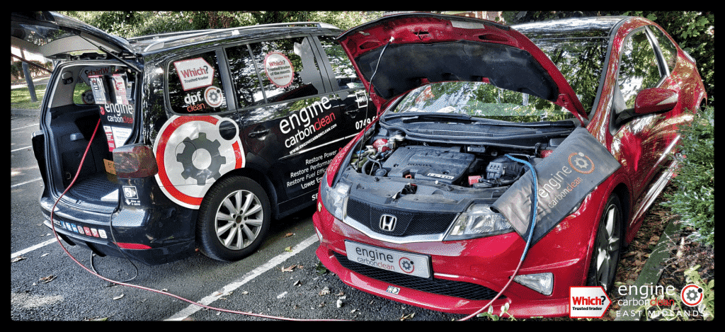 Diagnostic Consultation and Engine Carbon Clean on a Honda Civic 2.2 Type S (2010 - 113,228 miles)