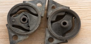 Worn Engine Mounts