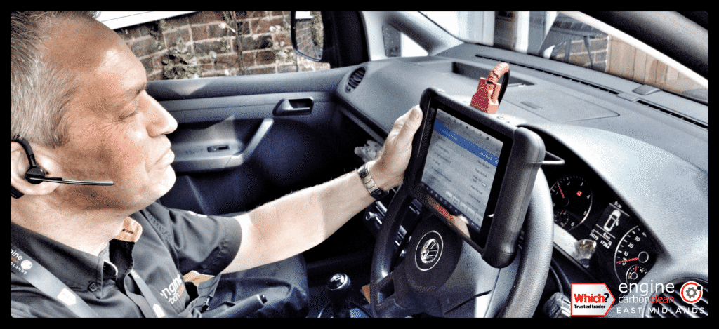 Diagnostic Consultation and Engine Carbon Clean on a VW Caddy 1.6 TDI (2014 - 39, 279 miles)