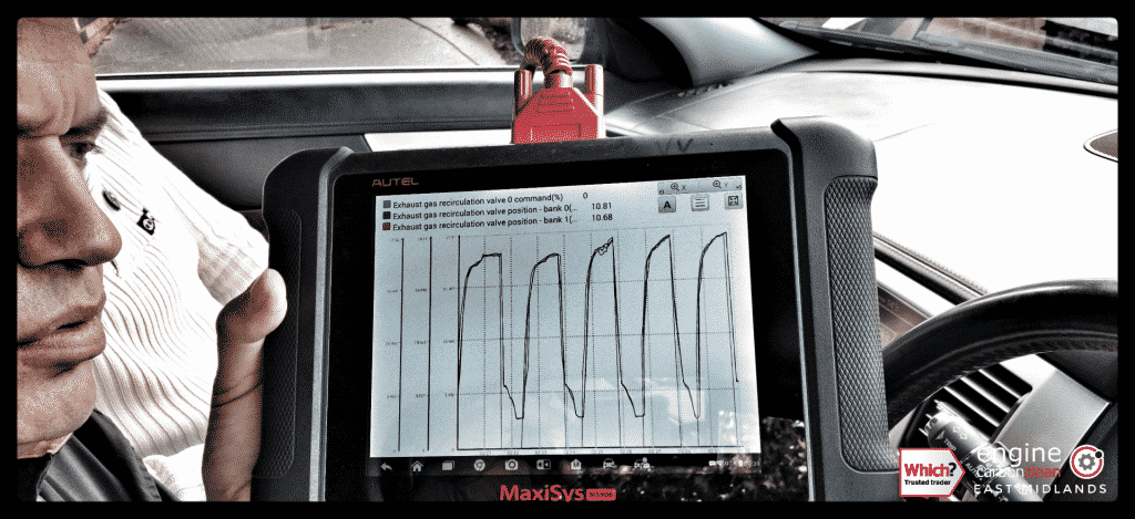 Diagnostic Consultation and Engine Carbon Clean on a Jaguar XF 2.7 Diesel (2009 - 142,460 miles)