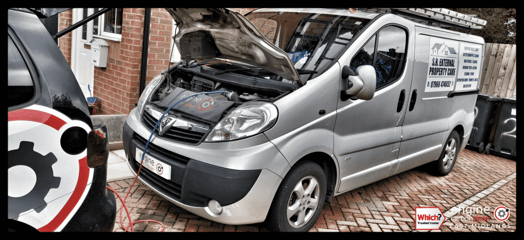 Stuck Thermostat - Diagnostic consultation and Engine Carbon Clean on Vauxhall Astra 1.8 petrol (2008 - 104,910 miles)