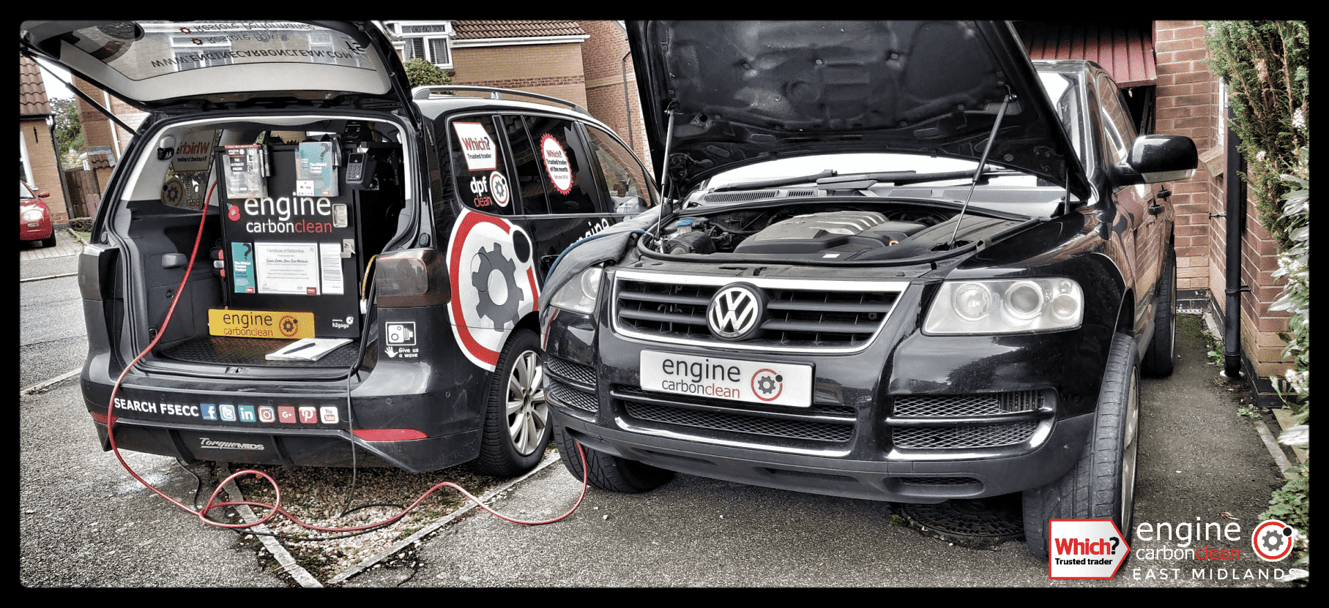 How's your MPG? Diagnostic and Engine Carbon Clean on a VW Touareg 2.5 TDI (2003 - 130,124 miles)