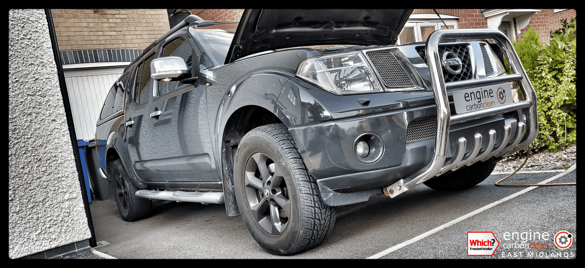 Just bought a vehicle? Diagnostic consultation and Engine Carbon Clean on a Nissan Navara 2.5dci (2010 - 76,164 miles)