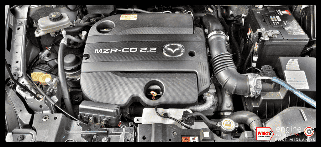 Diagnostic consultation and Engine Carbon Clean on a Mazda CX7 2.2 diesel (2010 - 72,782 miles)