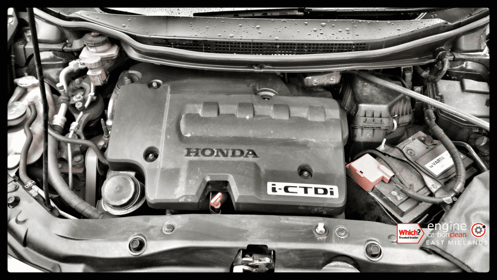 Diagnostic Consultation and Engine Carbon Clean on a Honda Civic Type S 2.2 GT-T Diesel (2012 - 82,605 miles)
