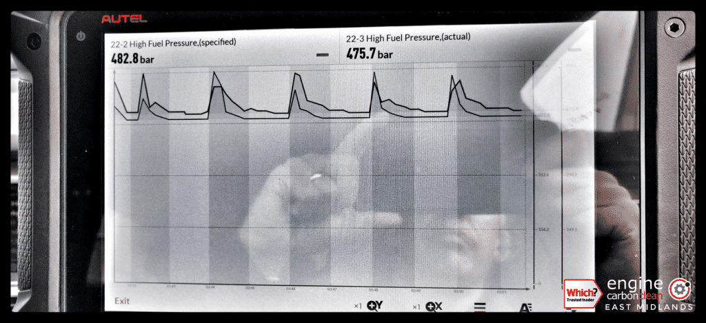 Diagnostic consultation and Engine Carbon Clean on an Audi A6 2.7 TDI (2006 - 116,100 miles)