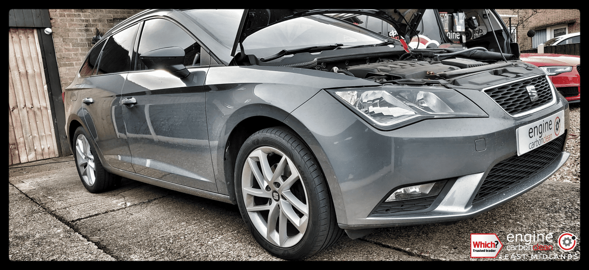 Diagnostic consultation and Engine Carbon Clean on a Seat Leon ST 2.0 TDI (2014 - 127,573 miles)