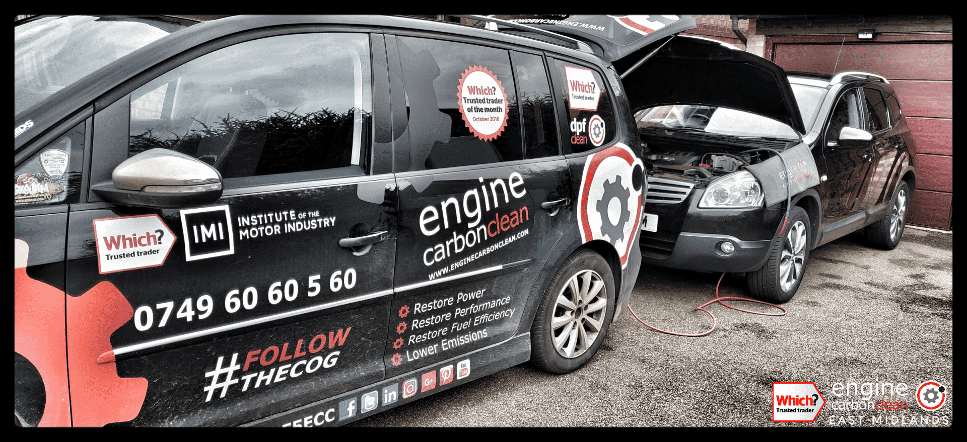 Diagnostic consultation and Engine Carbon Clean on a Nissan Qashqai+2 1.5 dci (2009 - 174,870 miles)