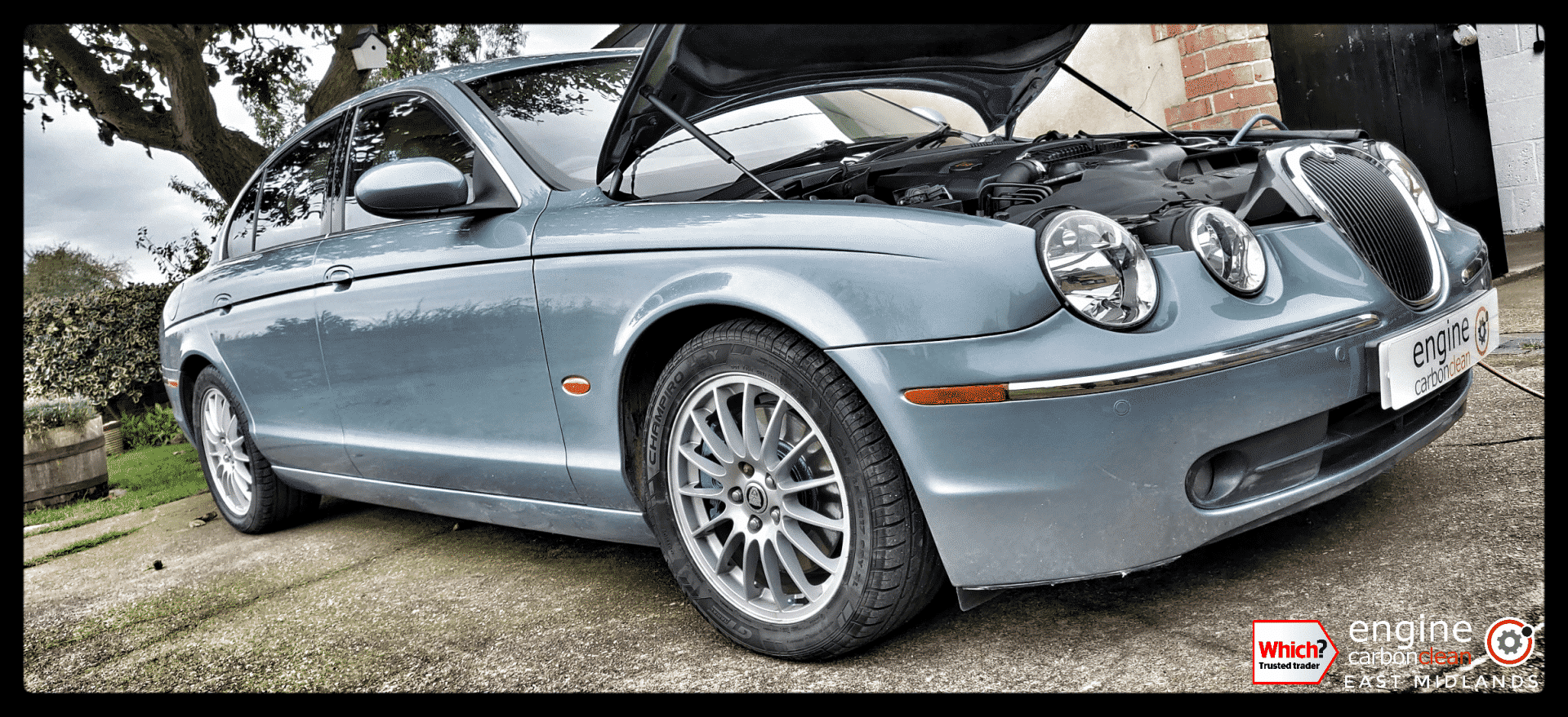 Diagnostic Consultation and Engine Carbon Clean on a Jaguar S-Type 2.7d V6 (2006 - 89,220 miles)