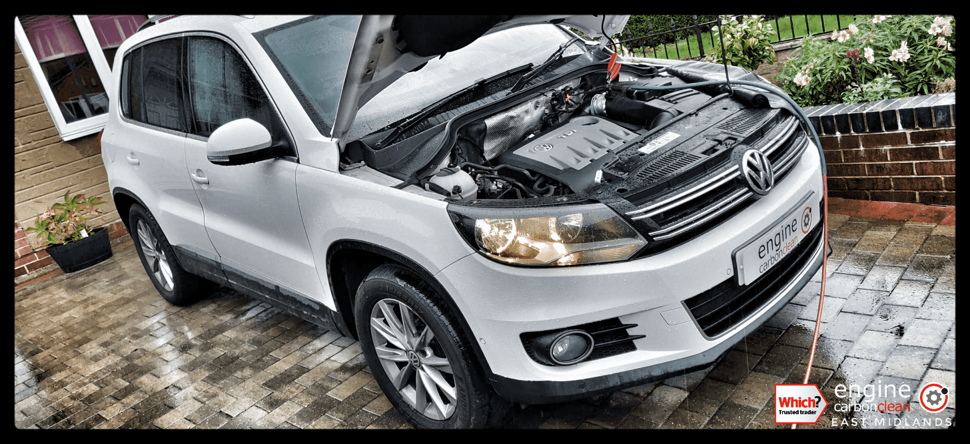Diagnostic Consultation and Engine Carbon Clean on a VW Tiguan 2.0 TDI (2013 - 69,206 miles)