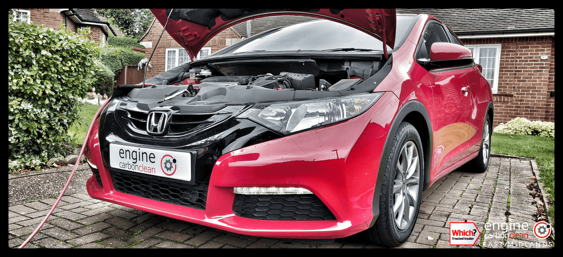 Just bought a car? Diagnostic and Engine Carbon Clean - Honda Civic 1.4 petrol (2015 - 27,795 miles)