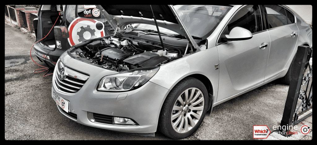 Just bought a vehicle? Diagnostic Consultation and Engine Carbon Clean on a Vauxhall Insignia 1.8 petrol (2009 - 78,911 miles)
