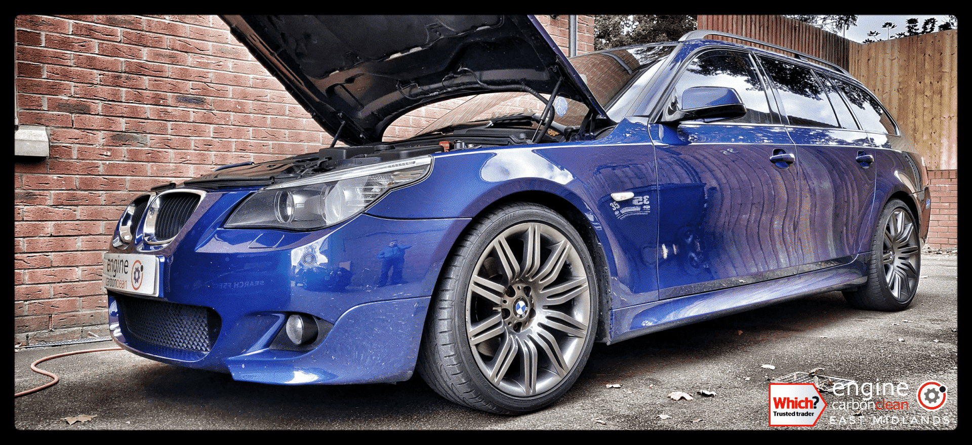 Diagnostic Consultation and Engine Carbon Clean on a BMW 520d (2010 - 122,805 miles)