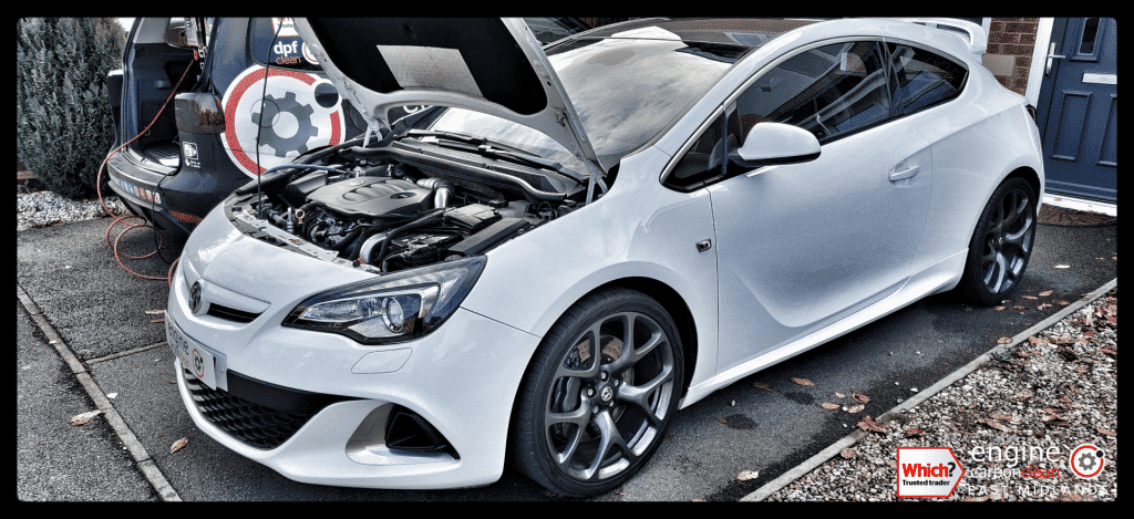 Diagnostic Consultation and Engine Carbon Clean on a Vauxhall Astra GTC 2.0T petrol (2013 - 48,955 miles)