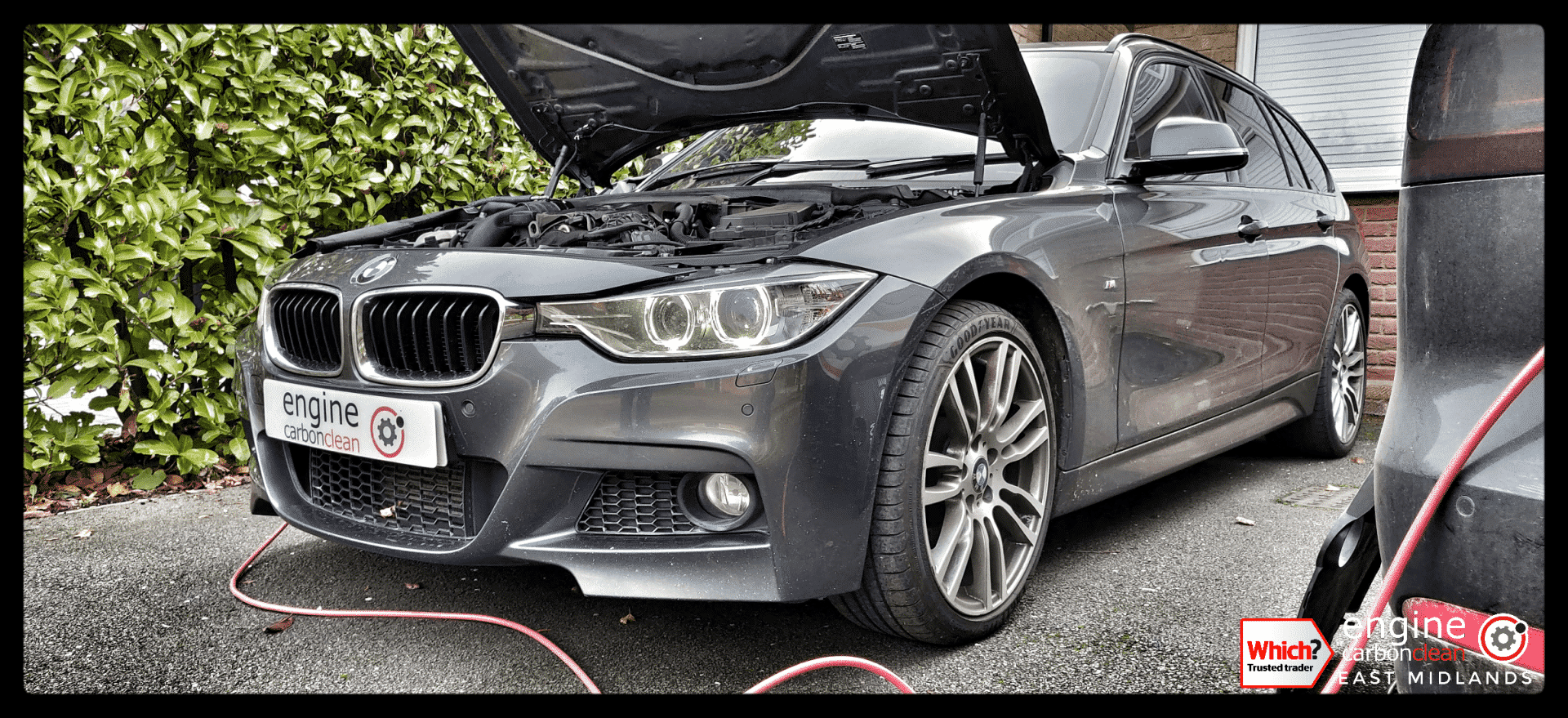 Diagnostic Consultation and Engine Carbon Clean on a BMW 330d (2014 - 81,911 miles)