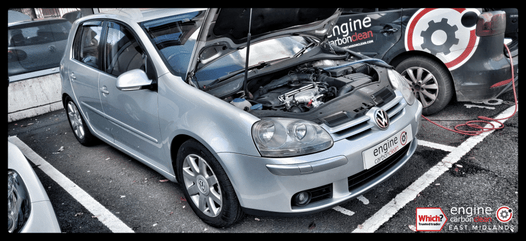 Diagnostic Consultation and Engine Carbon Clean on a VW Golf 2.0 TDI (2006 - 133,742 miles)
