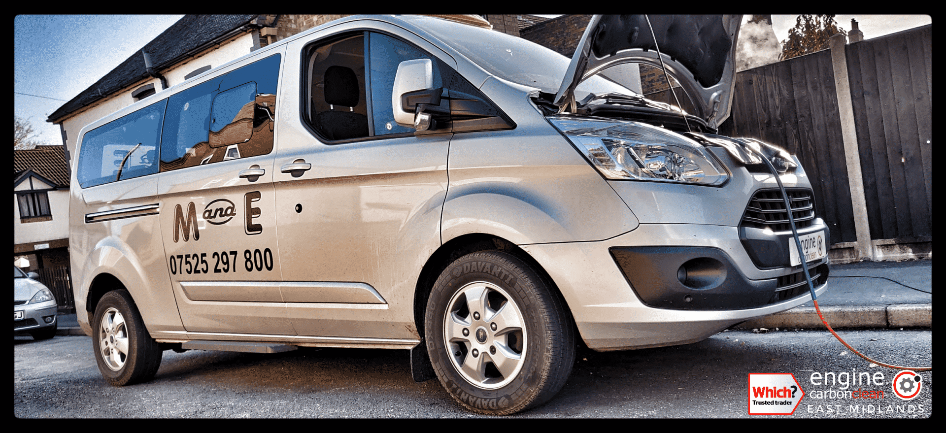 Diagnostic Consultation and Engine Carbon Clean - Ford Tourneo 2.0 TDCi (2017 - 88,895 miles)