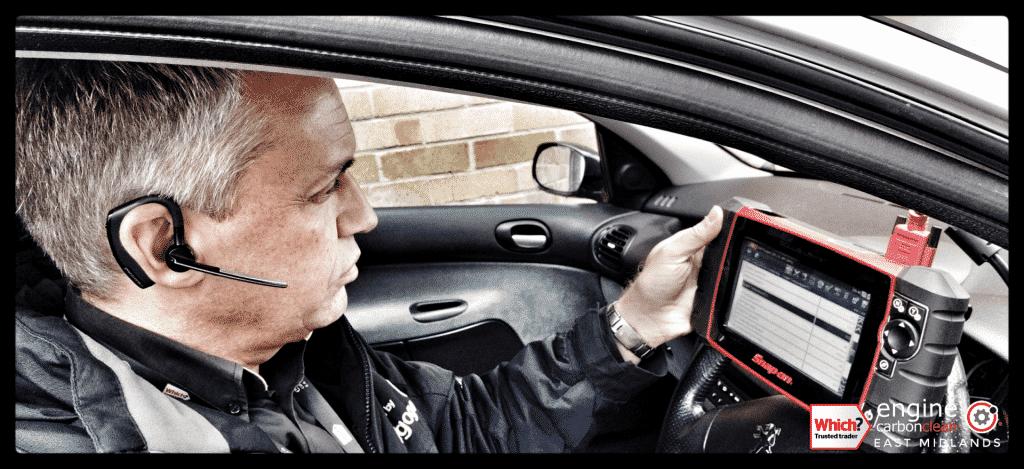 Diagnostic Consultation and Engine Carbon Clean - Peugeot 206 GTI 2.0 petrol (2006 - 67,824 miles)