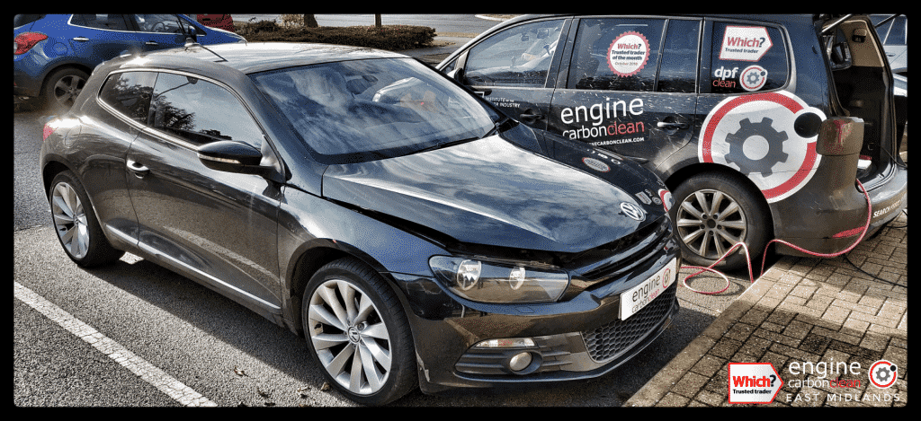 Diagnostic Consultation and Engine Carbon Clean on a VW Scirocco 2.0 TDI (2009 - 101,690 miles)