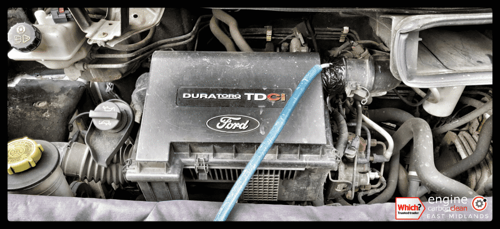 Diagnostic Consultation and Engine Carbon Clean - Ford Transit 2.2 TDCi (2006 - 153,801 miles)