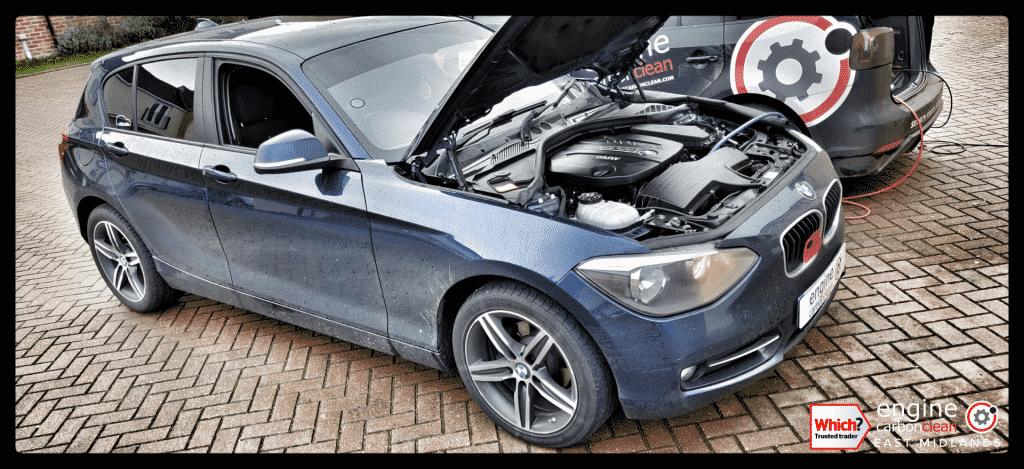 Diagnostic Consultation and Engine Carbon Clean - BMW 116d (2015 - 58,098 miles)
