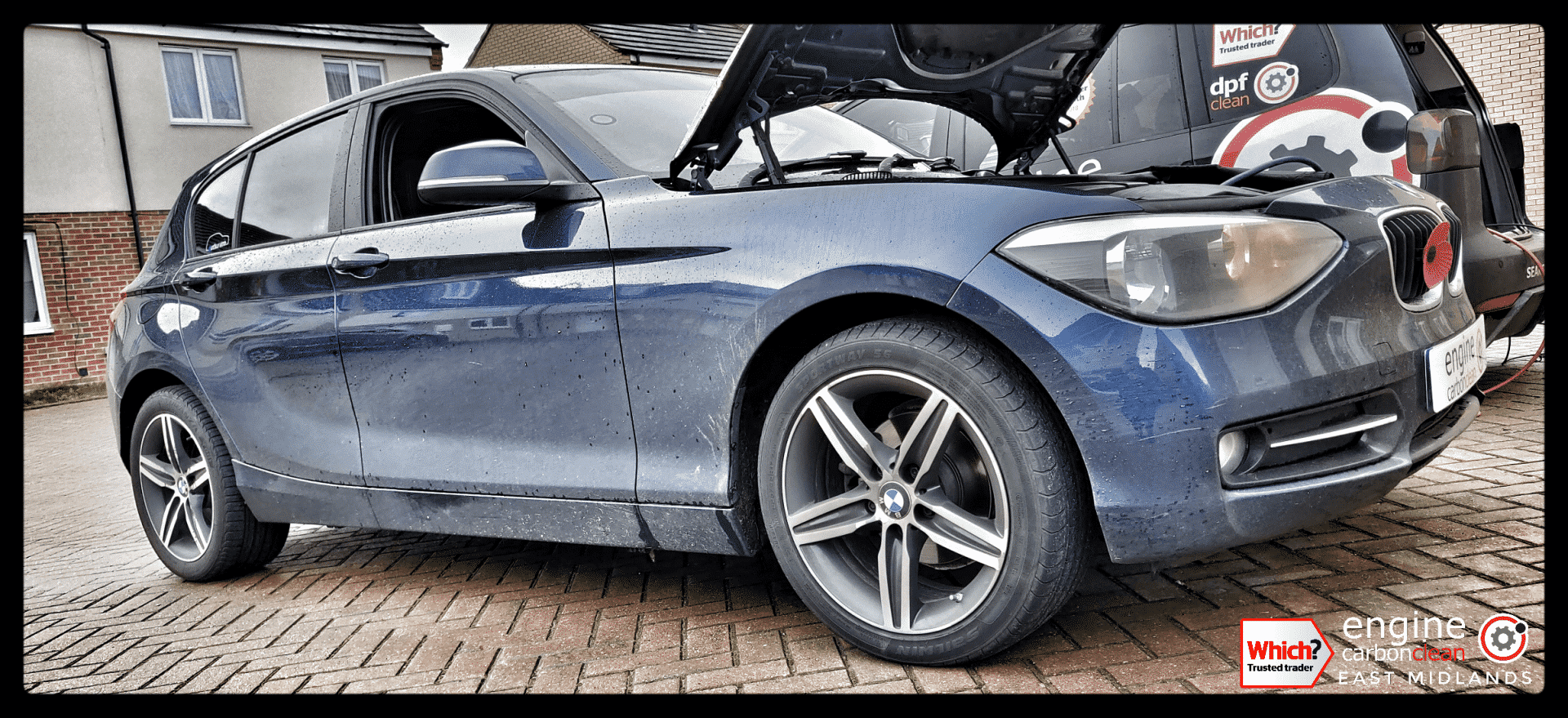 Diagnostic Consultation and Engine Carbon Clean - BMW 116d (2015 - 58,098 miles)
